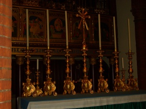 The High Altar in the Shrine Church - Walsingham