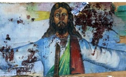Blood-spattered-mural-of-Jesus-in-Egypt