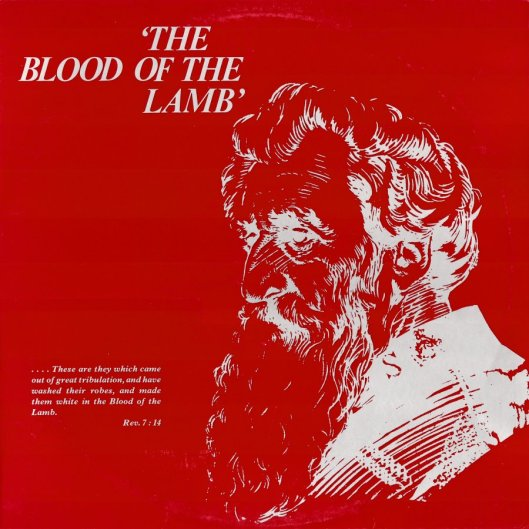 SF345 - The Blood of the Lamb Record Cover Front