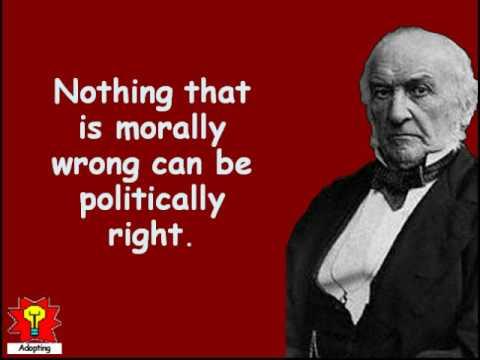 Gladstone quote