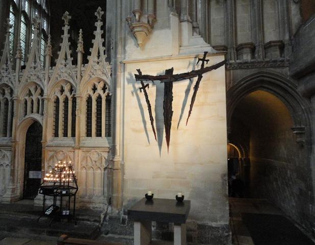 Site of Becket's murder