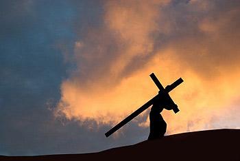 jesus carries