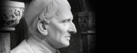 Newman bust