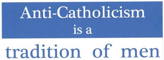 anticatholicism