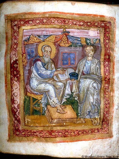 The Apostle John and Marcion of Sinope