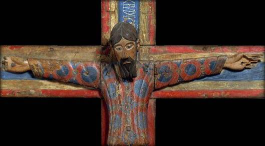 The Batlló Crucifix. Barcelona © National Art Museum of Catalonia (MNAC)