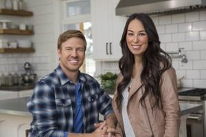"Chip and Joanna Gaines of HGTV's ""Fixer Upper"" (HGTV)"