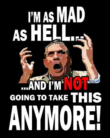 mad as hell - photo #1
